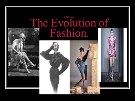 0748186 The Evolution Of Fashion Fashion Show Ppt Templates Free