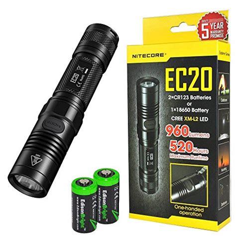 Nitecore Ec20 Senter Led Cree Xm L2 T6 960 Lumens nitecore ec20 960 lumen cree xm l2 t6 led flashlight with two edi
