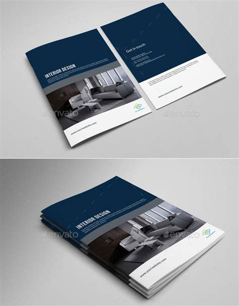 brochure template kingsoft annual report indesign template