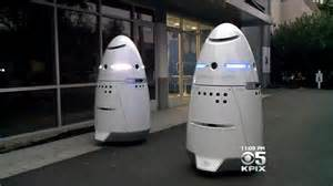 crime fighting robots go on patrol in silicon valley 171 cbs