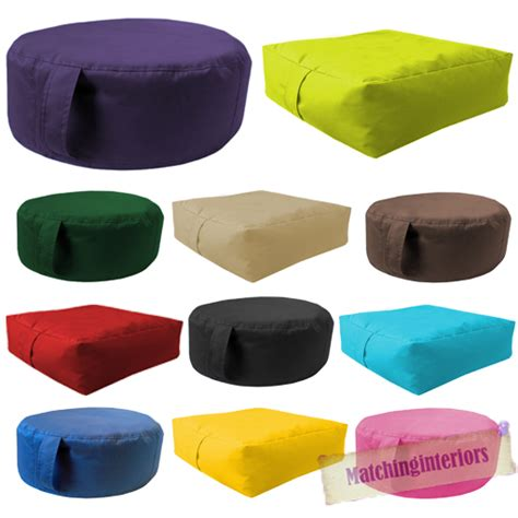 circle garden chair cushions 2pk water resistant beanbag slab or circle outdoor indoor