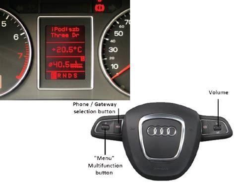 Audi A3 Bluetooth by Adaptateur Usb Ipod Bluetooth Audi A3 A4 Interfaces
