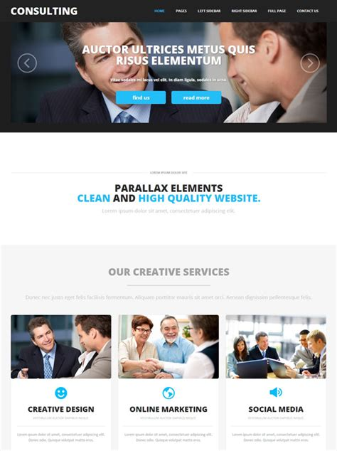 Consulting Website Template Consulting Agency Website Templates Dreamtemplate Consulting Website Template