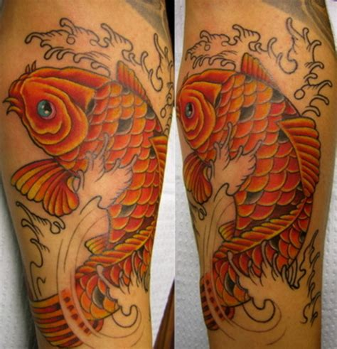 koi fish forearm tattoo koi fish forearm