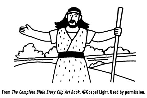 printable coloring pages john the baptist john the baptist coloring pages for kids coloring home