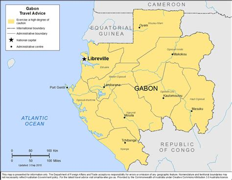 gabon maps gabon map geography of gabon map of gabon worldatlascom