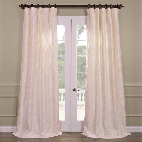 best price curtains best price alexandria off white taffeta faux silk curtain