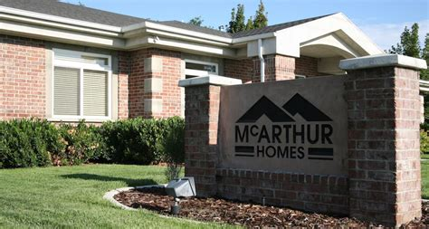 why mcarthur mcarthur homes