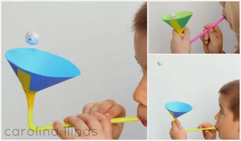 experimentos faciles experimento para hacer flotar una pelota artividades