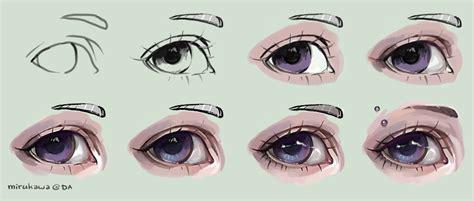 eyeshadow tutorial art eye tutorial by mirukawa on deviantart