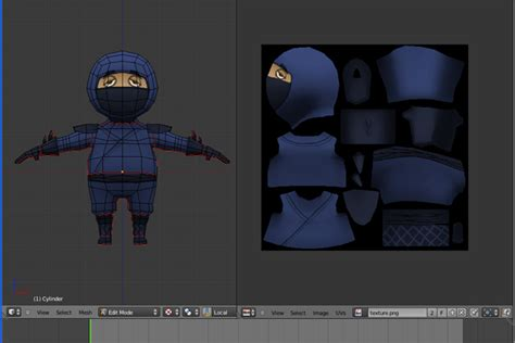 blender 3d texture painting creating a low poly character using blender part 2