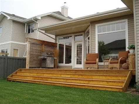 Small Deck Ideas With Privacy