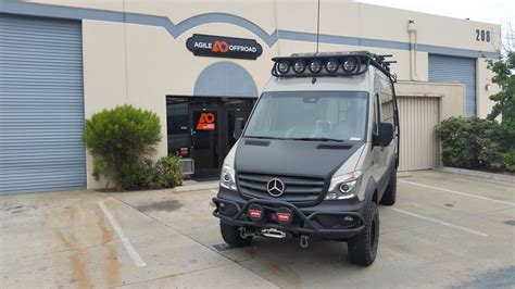 Mercedes Sprinter Kit by Top Secret Agile Road S Sprinter Rip Kit