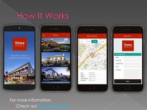 land layout app real estate ios mobile app template only at 99
