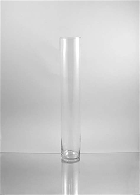 24 Inch Glass Vase by Wgv Clear Cylinder Glass Vase 4 By 24 Inch New Free