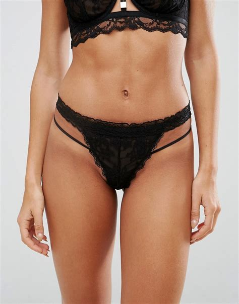 Strappy Thongs asos strappy lace shopperboard
