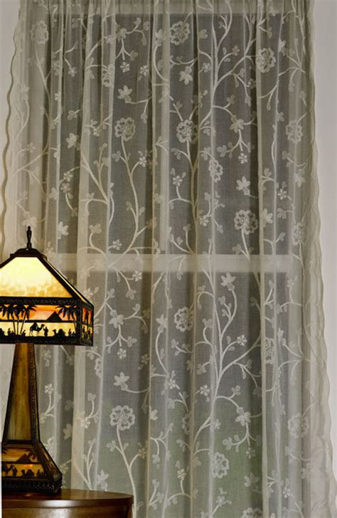 yardage for curtains thistle madras lace curtain and yardage direct from london