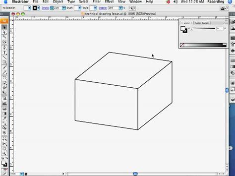 illustrator draw undo technical drawing in adobe illustrator part 1 youtube