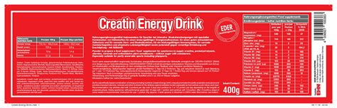 energy drink with creatine creatin energy drink 10038