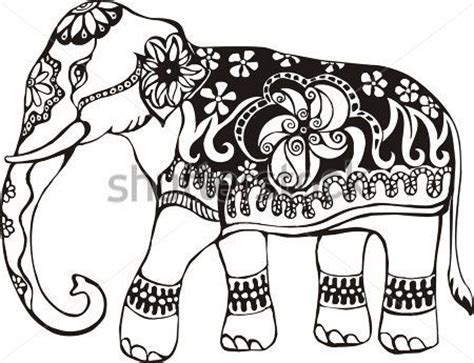 indian elephant coloring page indian elephant design coloring pages archivo de origen