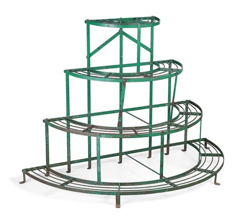 Wrought Iron Planter Stands by An Wrought Iron Plant Stand 20th Century