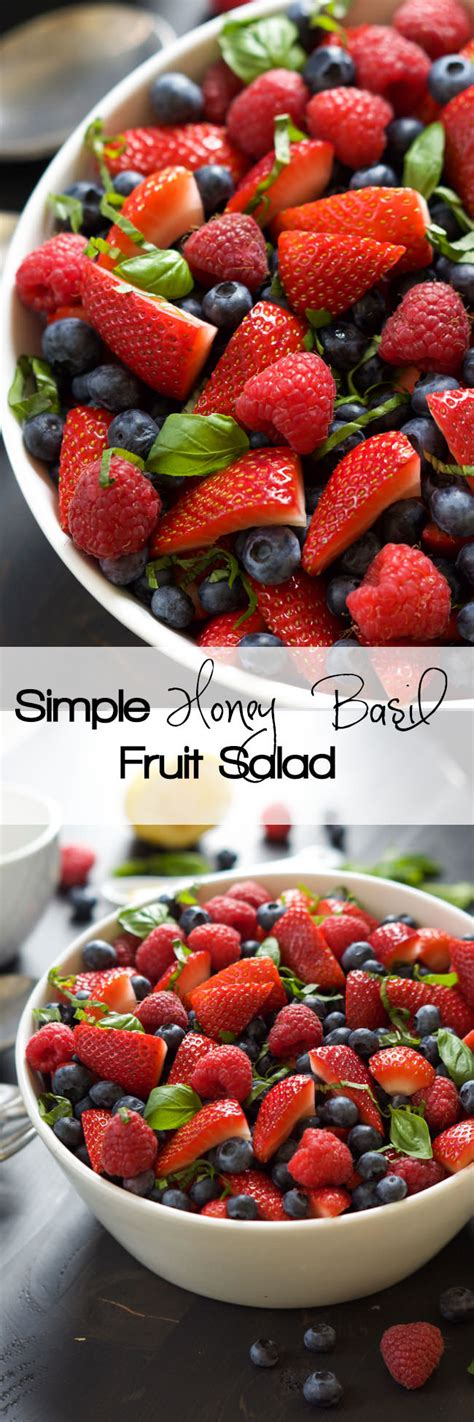a fruit that doesn t an a in it simple honey basil fruit salad