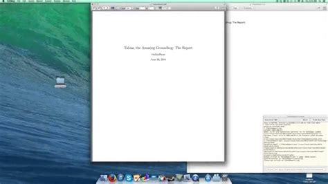 Latex Tutorial Report | latex tutorial 1 of 11 starting a report and title page