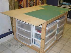 make a cutting table for your sewing room