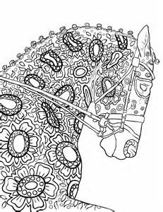 beautiful mandala coloring pages for adults coloring book page beautiful stallion for