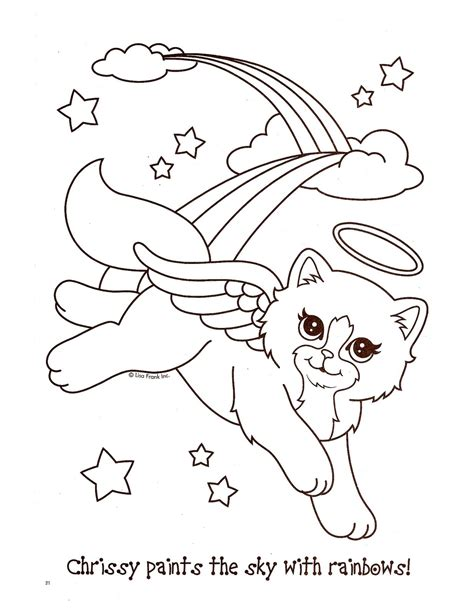 lisa frank animals printable coloring pages