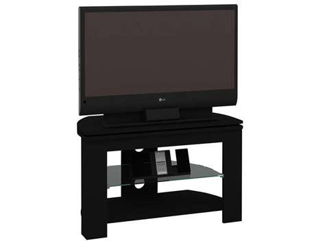 Meuble Tv Angle Conforama by Meuble Tv Passo 4 Coloris Noir Vente De Meuble Tv
