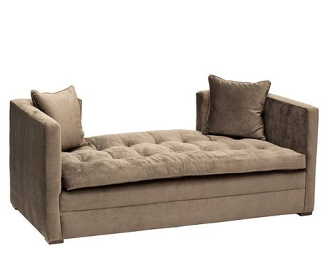 horchow settee horchow pewter settee look 4 less