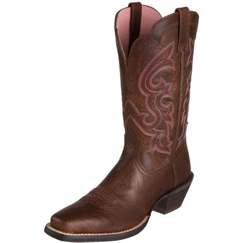 cowboy boots ariat pink cowboy boot the crafty