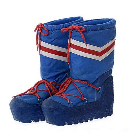 Boho Home Decor Store vintage 80s moon boots 1980s lasco new from