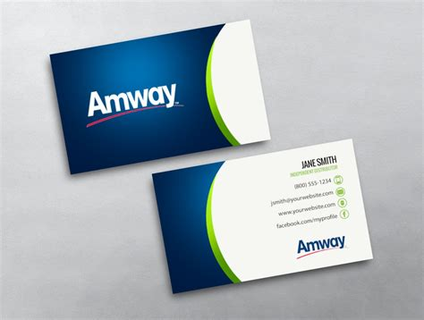 Amway Business Cards