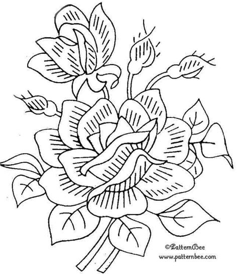 yellow rose coloring page best photos of traceable rose patterns single rose
