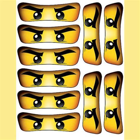 Printable Ninjago Eyes For Balloons | instant download ninjago eyes 5 inch for balloon by essu50