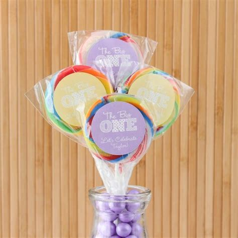 Unique Giveaways For 1st Birthday - personalized birthday lollipops kids birthday lollipop favors