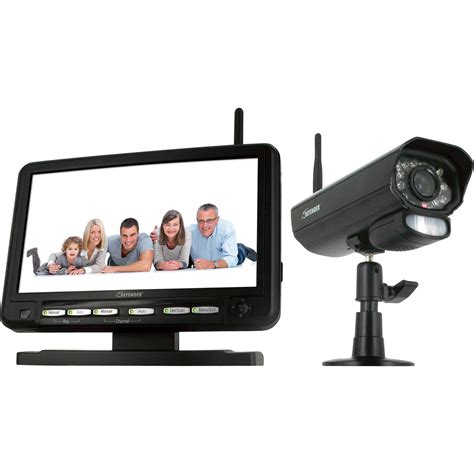 defender wireless surveillance system with 7in lcd monitor