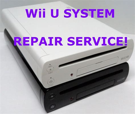 nintendo wii u console fix broken as is nintendo wii u console system parts and