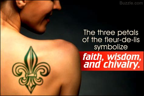 fleur de lis tattoo meaning designs for a fleur de lis and its true
