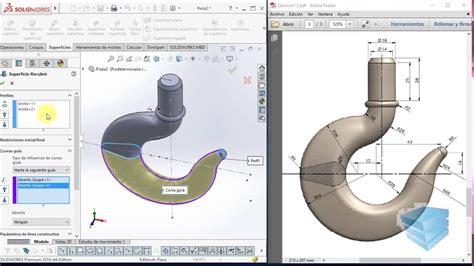 tutorial de solidworks tutorial de modelado de superficies con solidworks 2016