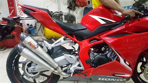 Knalpot Termignoni Honda Cbr 250rr knalpot pro speed mf new honda cbr 250 rr xtreme motor sport