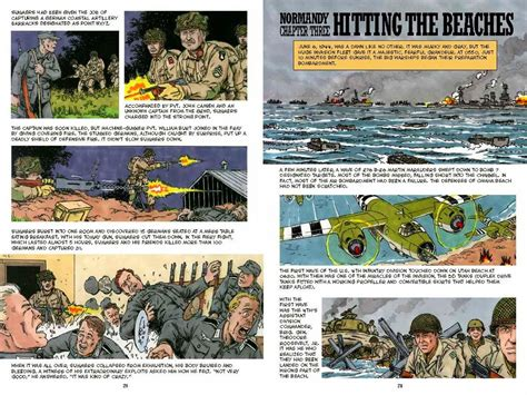 a graphic history normandy a graphic history of d day book review