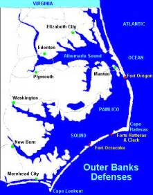 carolina outer banks albemarle sound and pamlico sound