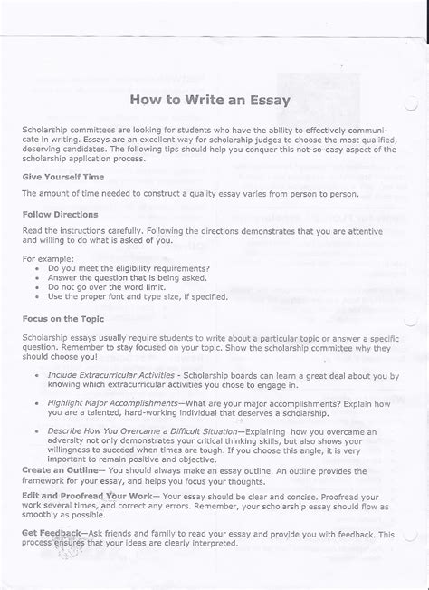 How To Write A Summary Of An Essay by Cavsconnect Writing Your College Essay More