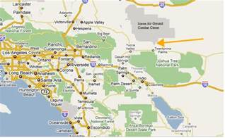 29 palms california map mcagcc twentynine palms ca overview