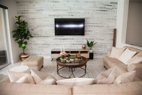 modern rustic living room ideas modern rustic chic living room stikwood accent wall