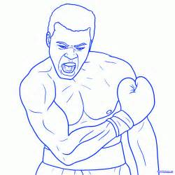 Pencil Alis how to draw muhammad ali step by step sports pop