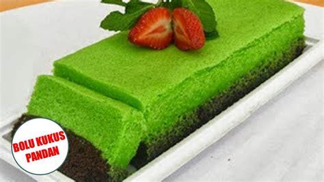 cara membuat kue bolu sederhana dan enak cara membuat bolu kukus pandan enak praktis sederhana